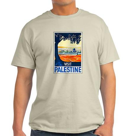 Palestine Travel Poster 1 Light T-Shirt