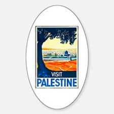 Palestine Travel Poster 1 Decal