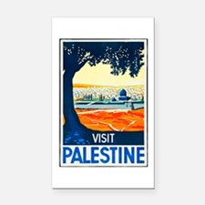 Palestine Travel Poster 1 Rectangle Car Magnet