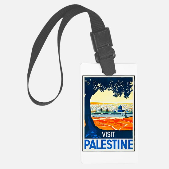 Palestine Travel Poster 1 Luggage Tag