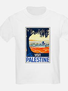 Palestine Travel Poster 1 T-Shirt