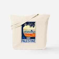 Palestine Travel Poster 1 Tote Bag