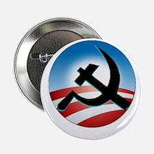 """OBAMA COMMUNIST 2.25"""" Button (10 pack)"""