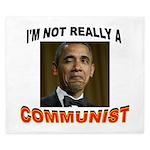OBAMA COMMUNIST King Duvet