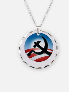 OBAMA COMMUNIST Necklace