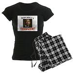 OBAMA COMMUNIST Women's Dark Pajamas