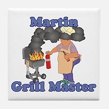Grill Master Martin Tile Coaster