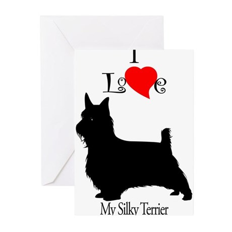 Silky Terrier Greeting Cards (Pk of 10)