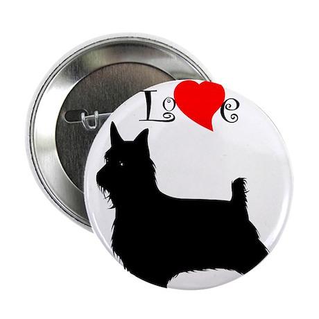 Silky Terrier Button