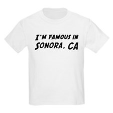 Famous in Sonora Kids T-Shirt