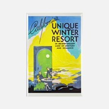 Death Valley Travel Poster 1 Rectangle Magnet (10