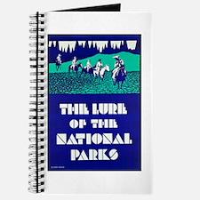 National Parks Travel Poster 2 Journal