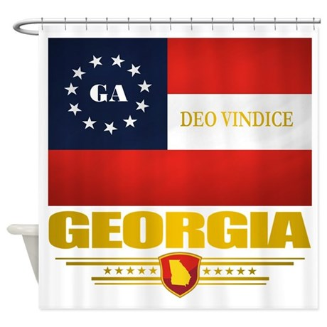 Georgia Deo Vindice Shower Curtain