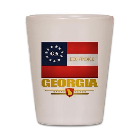 Georgia Deo Vindice Shot Glass