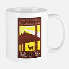 National Parks Travel Poster 3 Mug