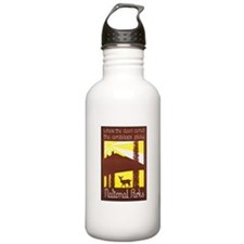 National Parks Travel Poster 3 Sports Water Bottle