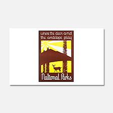 National Parks Travel Poster 3 Car Magnet 20 x 12