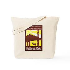 National Parks Travel Poster 3 Tote Bag