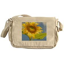 BACKYARD SUNFLOWER Messenger Bag