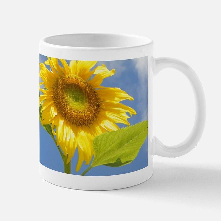 BACKYARD SUNFLOWER Small Small Mug