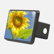 BACKYARD SUNFLOWER Rectangular Hitch Cover