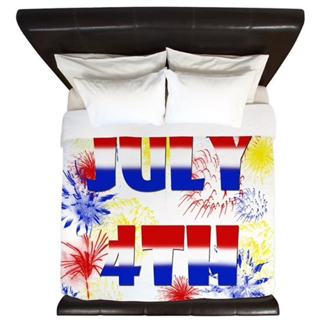 Celebrate July 4th King Duvet