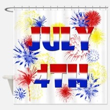 Celebrate July 4th Shower Curtain