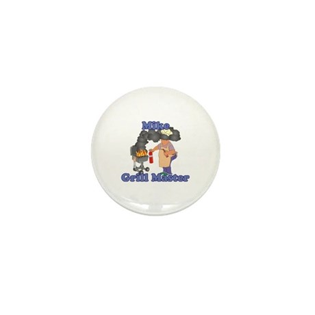 Grill Master Mike Mini Button