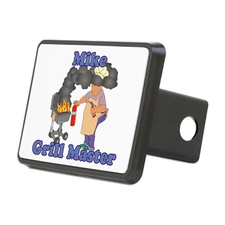Grill Master Mike Rectangular Hitch Cover