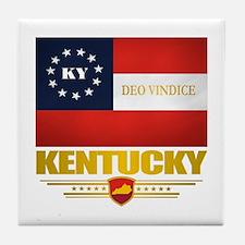 Kentucky Deo Vindice Tile Coaster