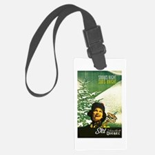 Quebec Travel Poster 2 Luggage Tag