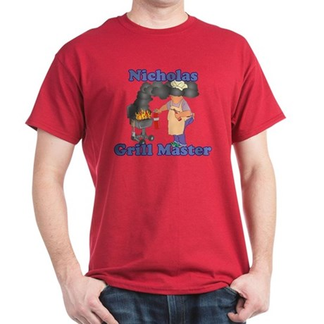 Grill Master Nicholas Dark T-Shirt