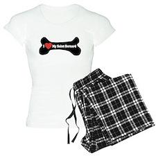 I Love My Saint Bernard - Dog Bone Pajamas