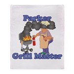 Grill Master Parker Throw Blanket