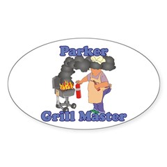 Grill Master Parker Decal