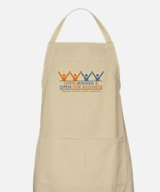 Open Minded Open for Business Apron