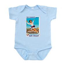 Sun Valley Travel Poster 1 Infant Bodysuit