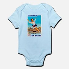 Sun Valley Travel Poster 1 Infant Bodysuit