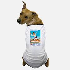 Sun Valley Travel Poster 1 Dog T-Shirt