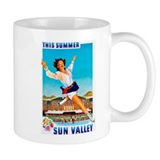 Sun Valley Travel Poster 1 Mug