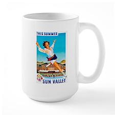 Sun Valley Travel Poster 1 Mug