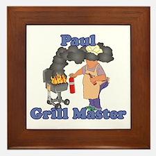 Grill Master Paul Framed Tile