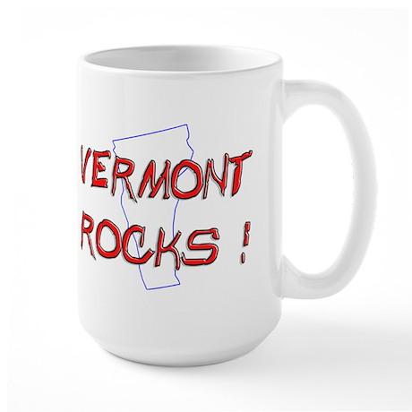 Vermont Rocks ! Large Mug