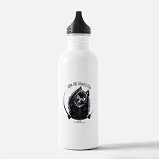 Schipperke IAAM Water Bottle