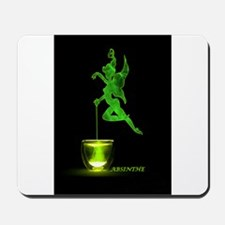 The Green Fairy Mousepad