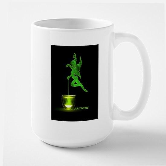 The Green Fairy Large Mug
