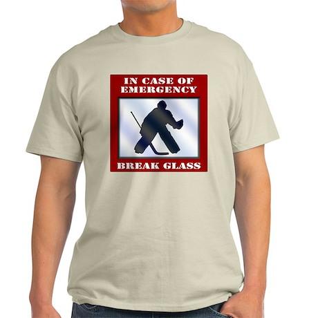 Emergency Hockey Goalie Light T-Shirt