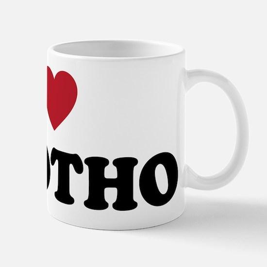 I Love Lesotho Mug
