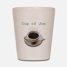 steamy cup of joe.jpg Shot Glass
