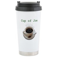steamy cup of joe.jpg Travel Mug
